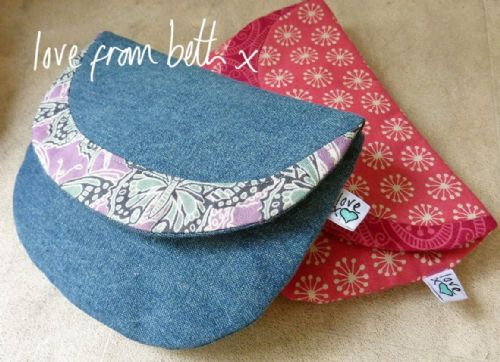 Love From Beth - Crescent Purse Sewing Pattern